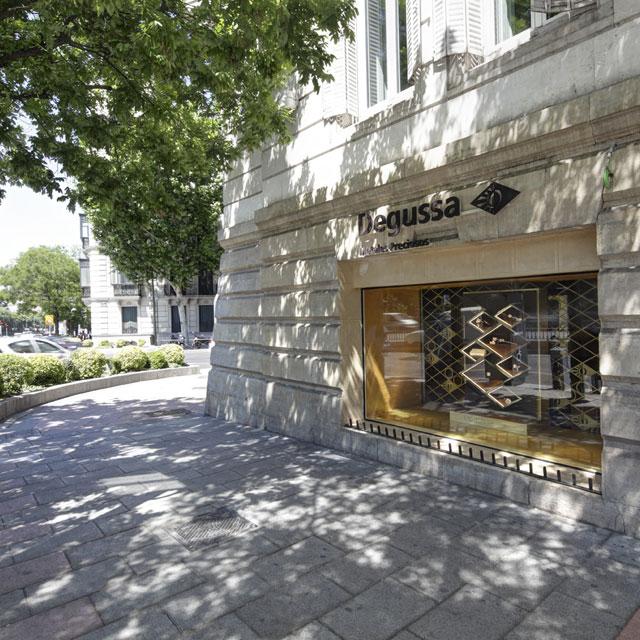 Degussa Niederlassung Madrid