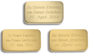 Degussa-Goldhandel-gravur-beispiele