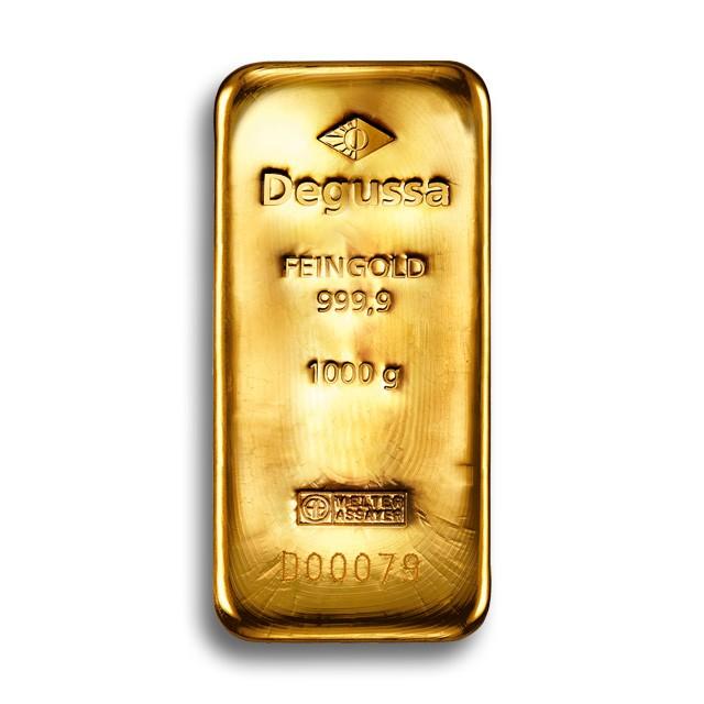 Degussa Goldhandel Goldbarren 1 kg