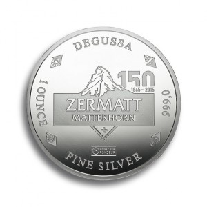 Degussa Goldhandel 150 Jahre Matterhorn Erstbesteigung