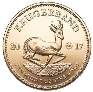 Degussa Goldhandel 50 Jahre Kruegerrand 2017