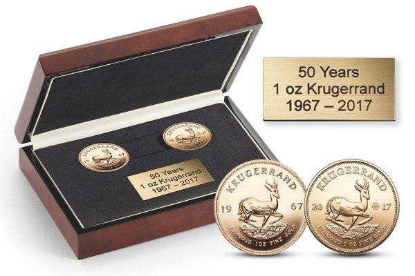 """Unser Set """"50 Jahre Krügerrand"""""""