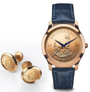 Degussa Goldhandel Kruegerrand Uhr