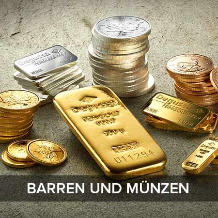 Barren und Münzen