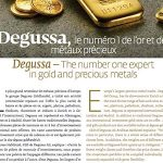 Degussa The number one expert in gold and precious metals
