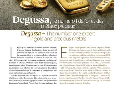 Gold is a precious meta essay