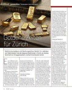 Goldene Zeiten für Zürich