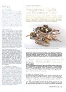 Degussa Qualität und Expertise in Zürich
