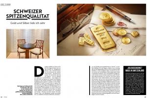 Degussa Goldhandel Schweizer Spitzenqualitaet