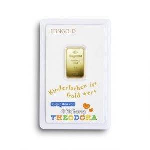 Goldbarren Stiftung Theodora